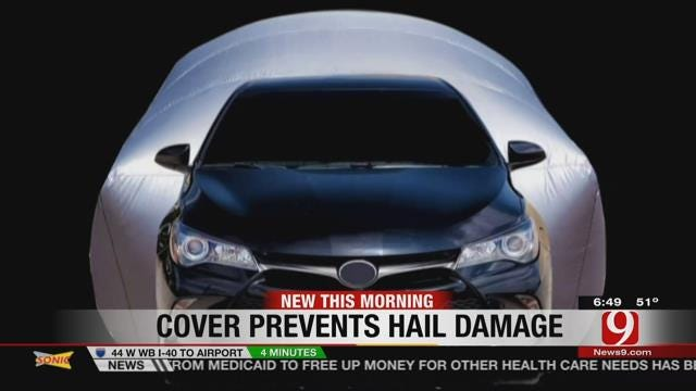 Man Creates Device To Protect Vehicles From Hail