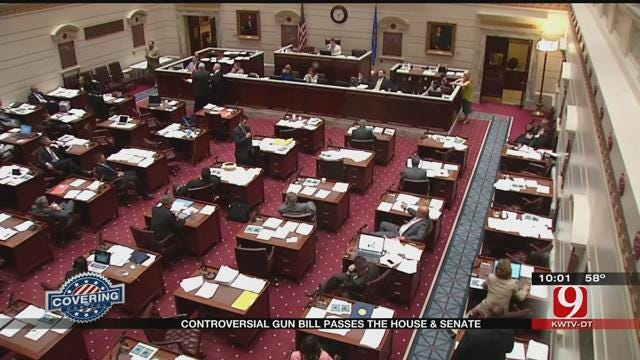 Controversial Gun Bill Passes Senate, Goes To Committee