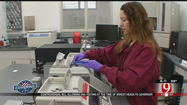 Controversial DNA Bill Passes Senate