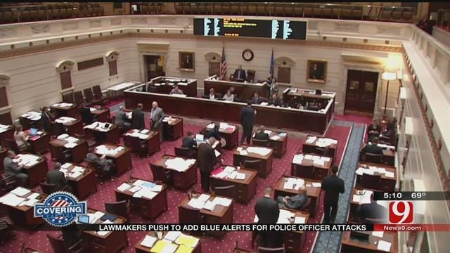 OK Lawmaker Looks To Pass 'Blue Alert' Bill For Police Safety