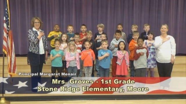 Mrs. Groves'1st Grade Class At Stone Ridge Elementary