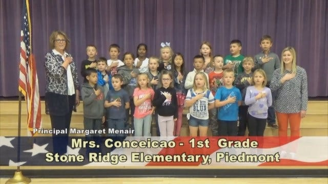 Mrs. Conceicao's 1st Grade Class At Stone Ridge Elementary