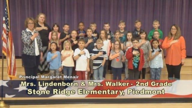 Mrs. Lindenborn and Mrs. Walker's 2nd Grade Class At Stone Ridge Elementary
