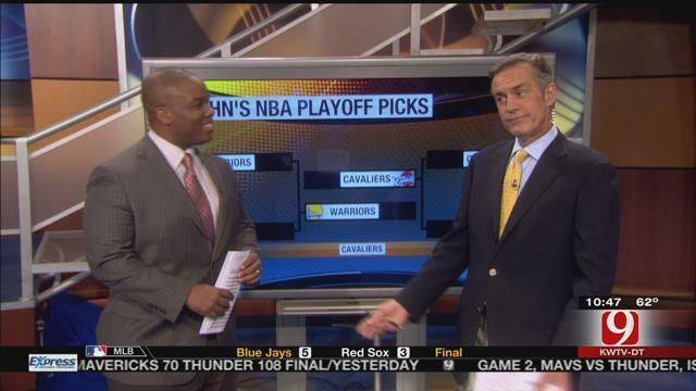 Chuck & John Make Their NBA Playoff Predictions