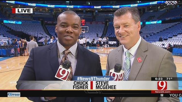 Thunder Report: Steve & Chuck's First Round Predictions