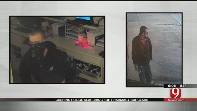 Cushing Police Searching For Suspects In Pharmacy Robbery