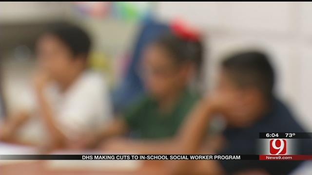 Oklahoma DHS Cuts Mean End Of School Social Worker Program