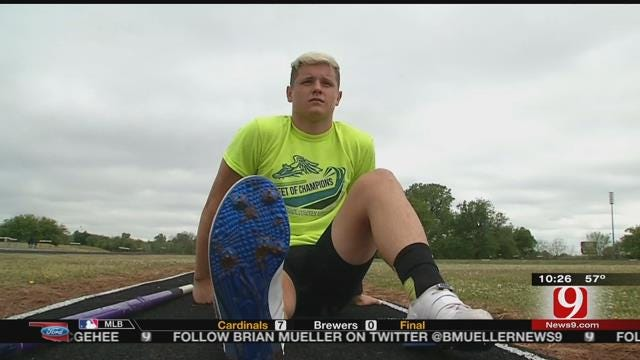 Purcell Pole Vaulter Going For Oklahoma History