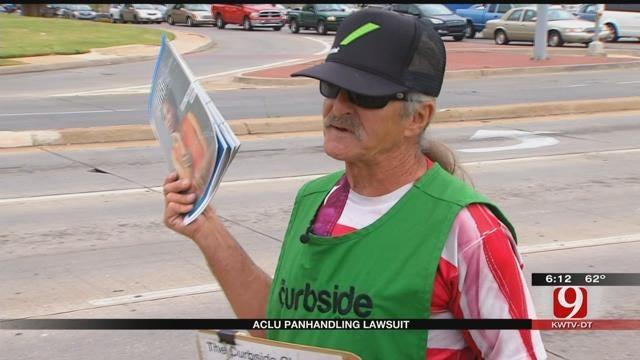 ACLU Files Lawsuit Against OKC Over Panhandling Ordinance