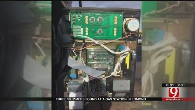 Three Credit Card Skimmers Found At Edmond Gas Station