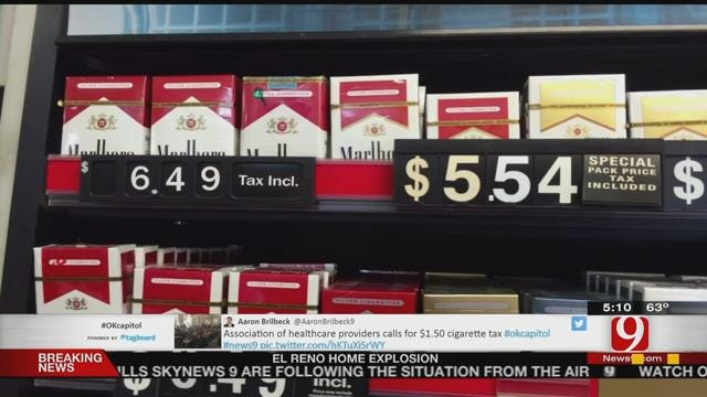 Health Care Providers Ask For New Tobacco Tax