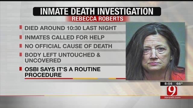 Authorities Investigate After Inmate Found Dead Inside Oklahoma Co. Jail