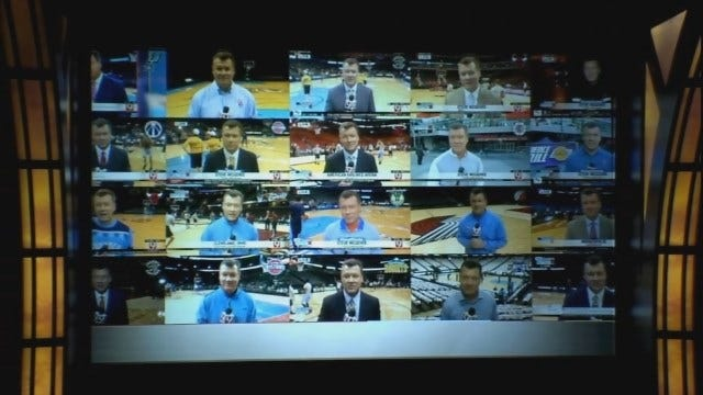 Thunder Reporter Steve McGehee's Been Everywhere This Season