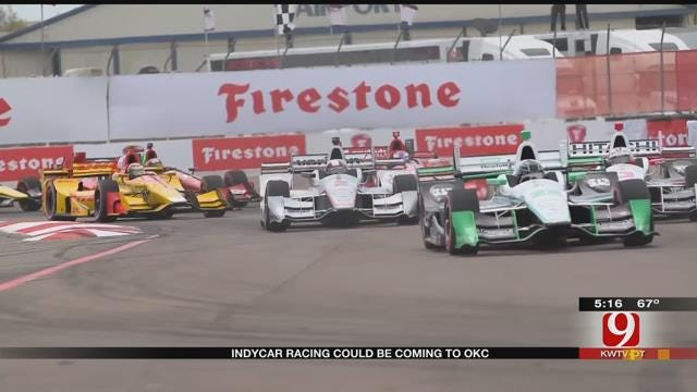 IndyCar Exploring Possible Race In Downtown OKC