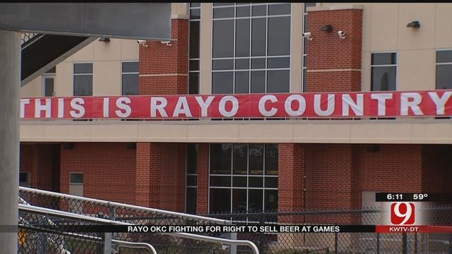 Rayo OKC Fights For Right To Sell Beer At Games