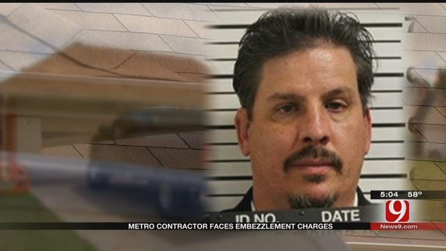 Metro Contractor Facing Embezzlement Charges