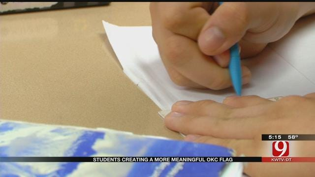 OKC Students, Teacher Want To Create A More Meaningful City Flag