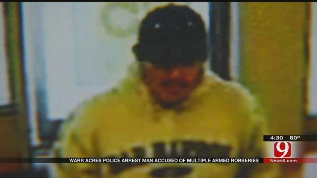 Warr Acres Police Arrest Man Accused Of Multiple Armed Robberies