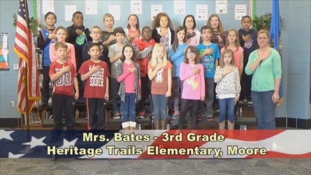 Mrs. Bates'3rd GradeClass At Heritage Trails Elementary