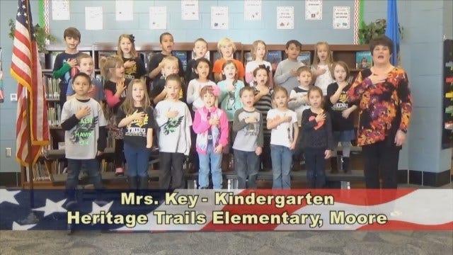 Mrs. Key'sKindergarten Class At Heritage TrailsElementary