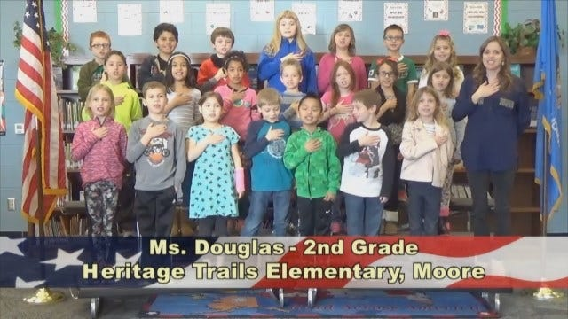 Ms. Douglas'2nd Grade Class At Heritage TrailsElementary