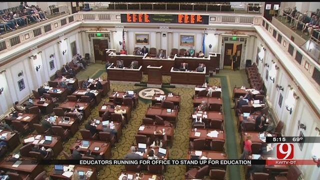 Dozens Of Oklahoma Educators Plan To Run For State Office