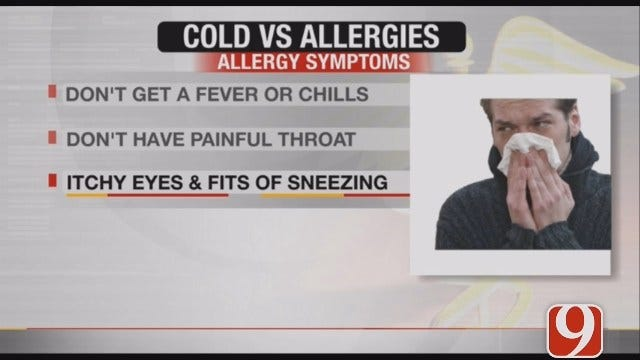 How To Tell The Difference Between Allergies And A Cold