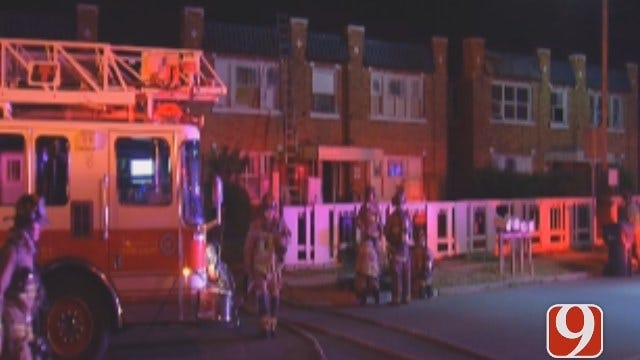 Twelve Evacuated After Apartment Fire