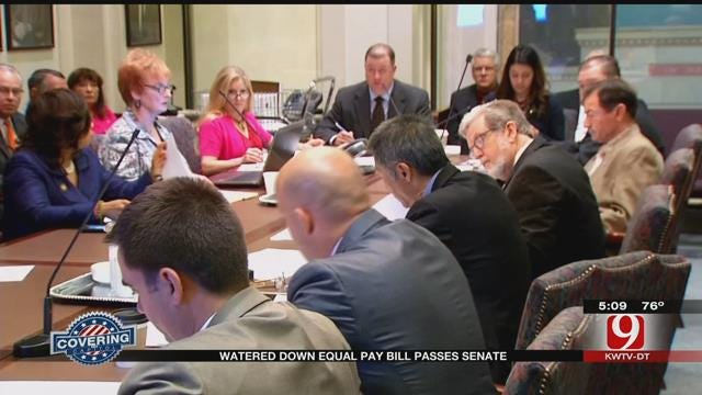Watered Down Equal Pay Bill Passes State Senate Committee