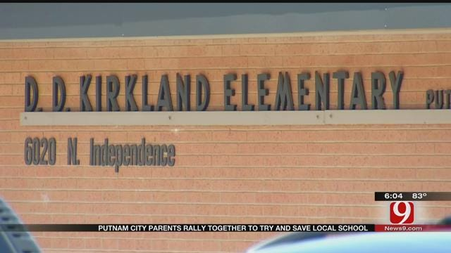 Putnam City Parents Rally Together To Try, Save Local School