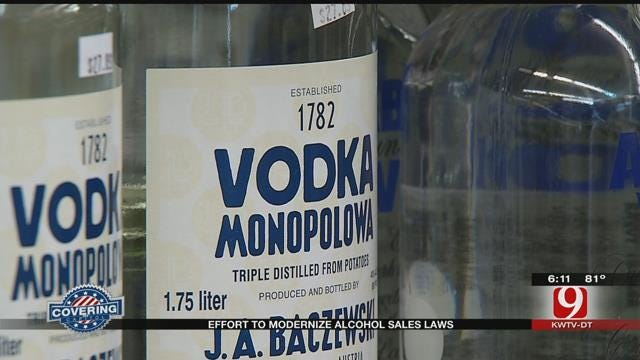 Committee To Hear Bill Concerning Alcohol Sales Laws