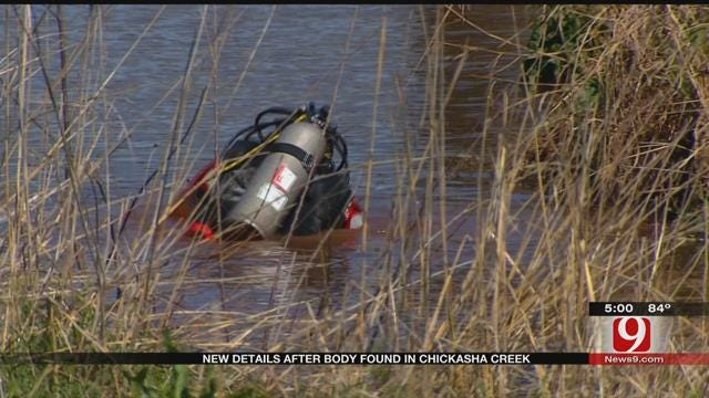 Police Seeking Answers After Body Discovered In Chickasha Creek