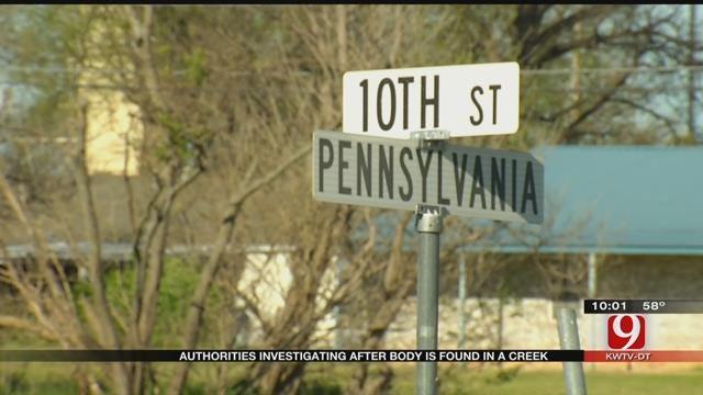 Body Found In Chickasha Creek