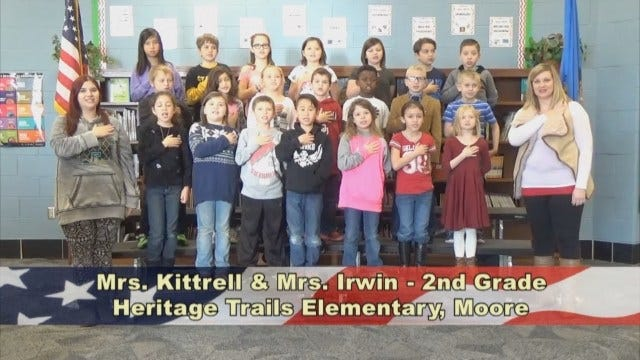 Mrs. Kittrell and Mrs. Irwin's 2nd Grade Class At Heritage Trails Elementary