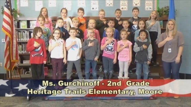 Ms. Gurchinoff's 2ndGrade Class At Heritage TrailsElementary