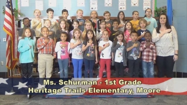Ms. Schurman's 1st Grade Class At Heritage Trails Elementary