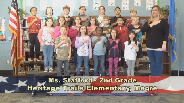 Ms. Stafford's 2nd Grade Class At Heritage Trails Elementary