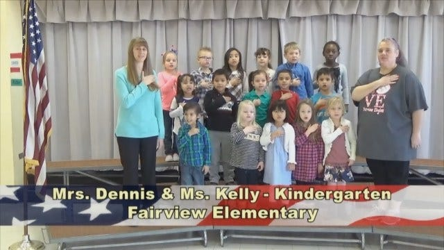 Mrs. Dennis and Ms. Kelly's KindergartenClass At Fairview Elementary