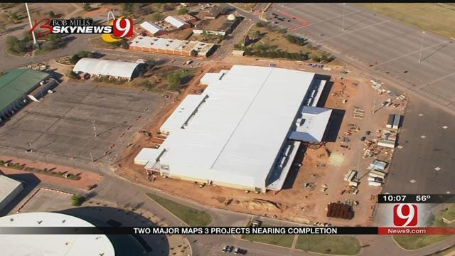 Two Major MAPS 3 Projects Nearing Completion In OKC