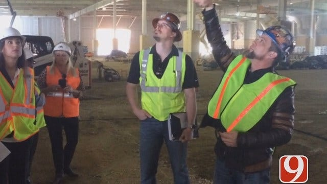 Work Continues On New Expo Center At State Fairgrounds