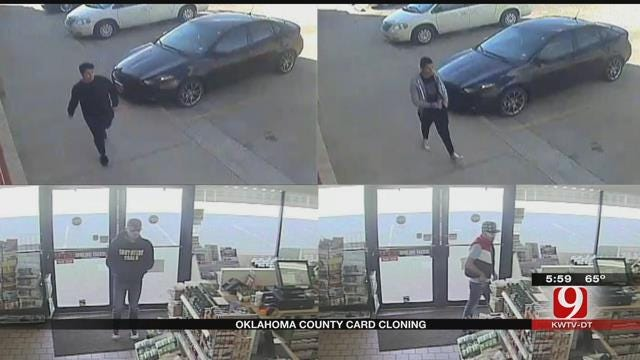 OK County Sheriff's Office Searching For Credit Card Cloning Suspects