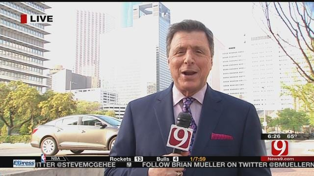 Dean Reports Live From Houston As Sooners Prep For Final Four