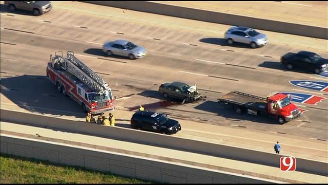 WEB EXTRA: Crews Respond To Multi-Vehicle Accident In NW OKC