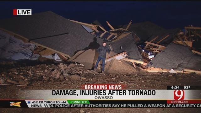 Owasso Residents Survey Tornado Damage