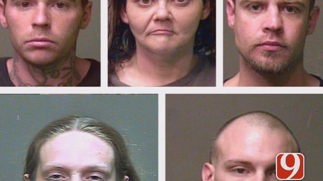 Police Arrest 6 In OKC Home Raid