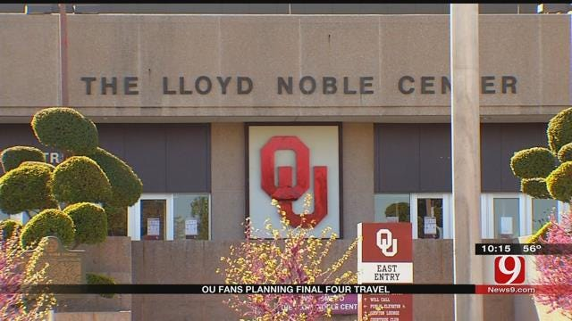 OU Fans To Follow Team To Final Four, Planning Trips
