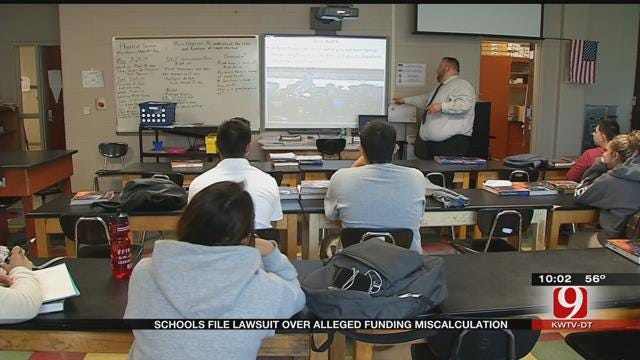 Schools File Lawsuit Over Alleged Funding Miscalculation