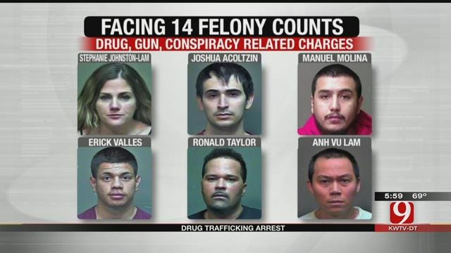 Six Charged In Connection With Drug Trafficking