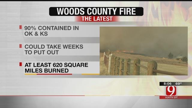 Fallin Declares State Of Emergency In Woods County After Wildfire