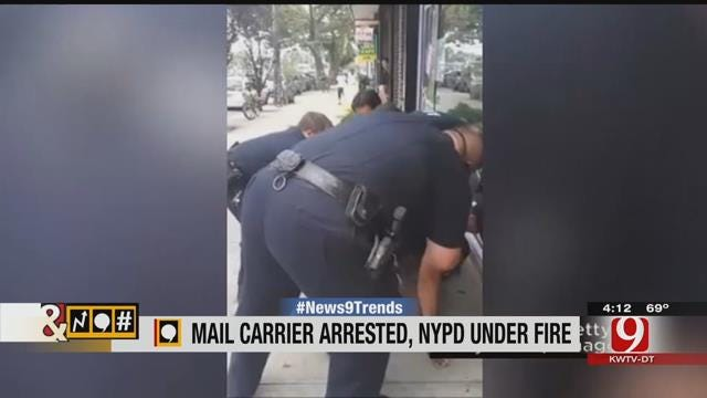Trends, Topics & Tags: NYPD Violent Arrest Of Black Postal Worker Goes Viral